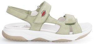 Gabor rolling soft 66.826.42 nubuk pistazie grün sandale