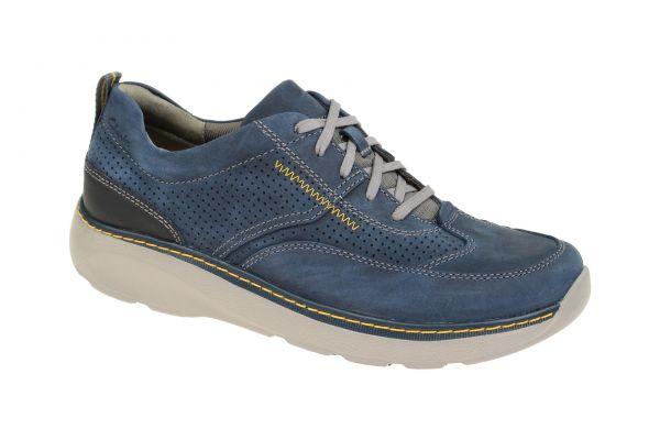 clarks charton mix navy blau 26115002