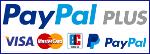 VISA Mastercard PayPal Plus